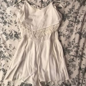 Pre-owned White romper from Garage